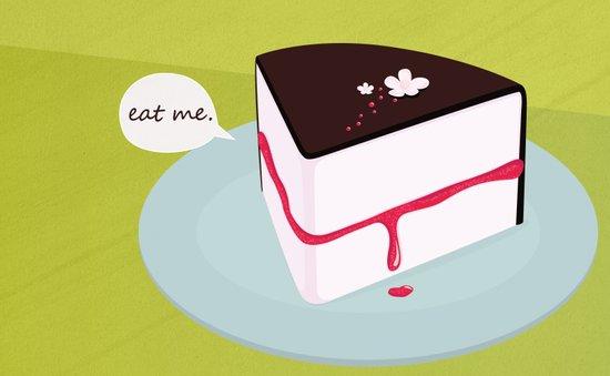 Eat me. Art Print