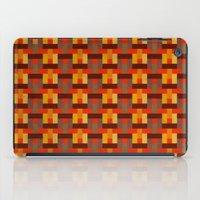 Woven Pixels I iPad Case
