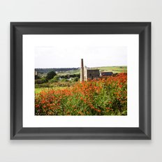 Castle In The Fields Framed Art Print