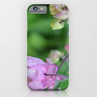 iPhone & iPod Case featuring Pink Flowers by gottalovedrawing