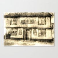 The Coopers Arms Pub Rochester Vintage Canvas Print