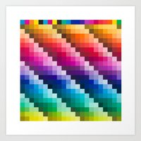 Color Palette Art Print