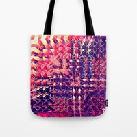 07-27-13 (Chandelier Glitch) Tote Bag