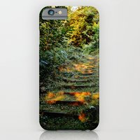 iPhone & iPod Case featuring Enchanted Stairway by Gavin Brick