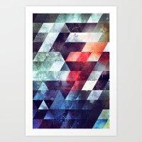 crykkd glyry Art Print