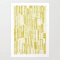 Golden Doodle Humpy Art Print