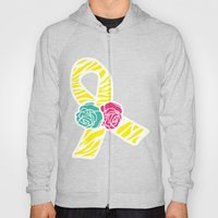 Endometriosis Ribbon 2 Hoody