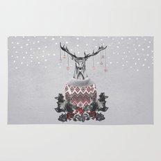 Christmas Deer (by Mariam & Nika) Rug