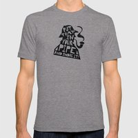 Smoke It! Mens Fitted Tee Tri-Grey SMALL