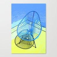 Chair & Chair Alike. Canvas Print