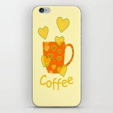 Coffee Fanatic iPhone & iPod Skin