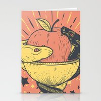 Liquid and Solid Stationery Cards