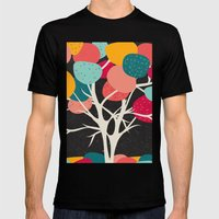 Lovely Tree Mens Fitted Tee Black SMALL