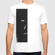 Intruder II White Mens Fitted Tee SMALL