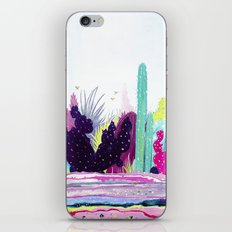 Cacti Watercolour Allsorts iPhone & iPod Skin