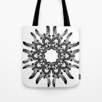 Donkey Kaleidoscope  Tote Bag