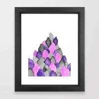 One Day I Will Grow Wing… Framed Art Print