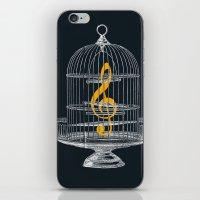 Set Me Free iPhone & iPod Skin