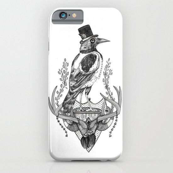 Mr. Magpie iPhone & iPod Case