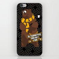 Alternative Hockey Fan - Boston iPhone & iPod Skin