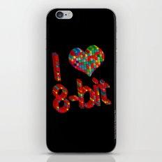 i heart 8-bit iPhone & iPod Skin