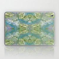 Jungle Print Teal Laptop & iPad Skin