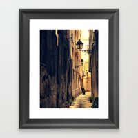 House Of Sun Framed Art Print