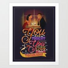 YOU + I  Art Print