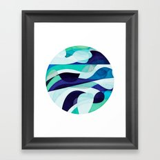 Bottomless Ocean Framed Art Print