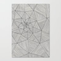 Web Pattern Canvas Print