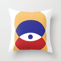 C I R   Eye Throw Pillow