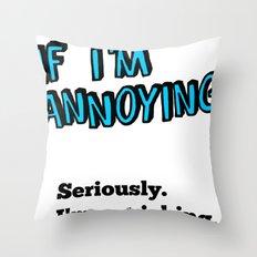 SLAP Throw Pillow