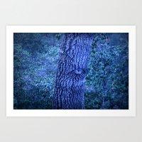forest eye Art Print