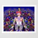 Robot Butterfly Art Print
