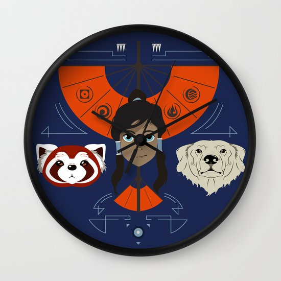 Spirited Avatar Wall Clock