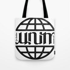 Unity Ambigram for Boston Tote Bag