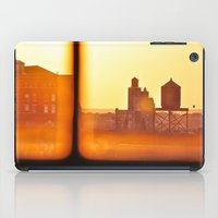 Fire Outside The Window iPad Case
