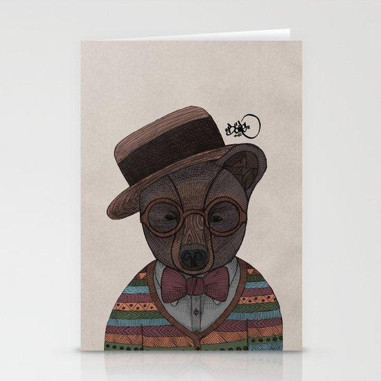 Mr. B. Stationery Card