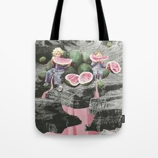 Watermelon Watermarks Tote Bag