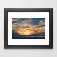 Cape Sunsets #2 Framed Art Print