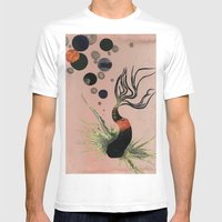 Koi Bubbles Mens Fitted Tee White SMALL
