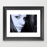 Whitley Framed Art Print