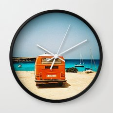 I'll wait for you Wall Clock
