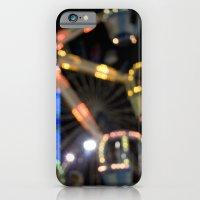iPhone & iPod Case featuring Seaside Boardwalk Lights by Erin Slonaker