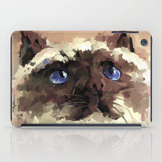 Himalaya cat(peaceful) iPad Case