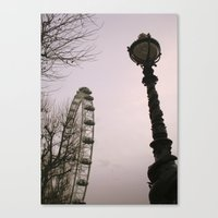 Canvas Print featuring London is London by Silvia Giacoletto