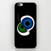 Eye Contact iPhone & iPod Skin