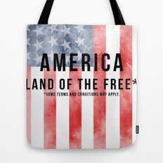 America: Land of the Free*  Tote Bag