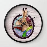 The Wild / Nr. 5 Wall Clock