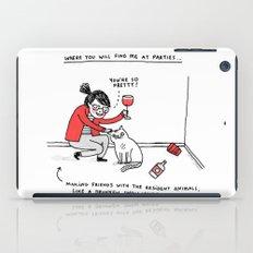 Me, At Parties iPad Case